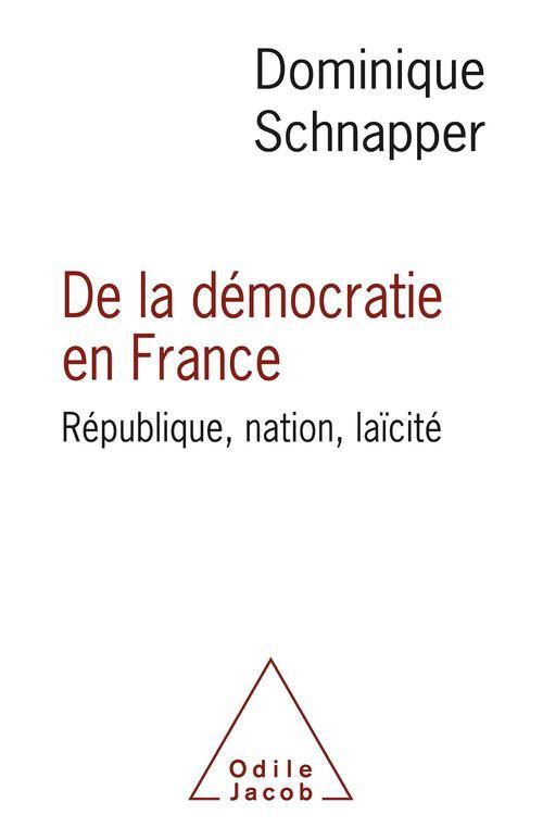 De la démocratie en France ; République, nation, laïcité