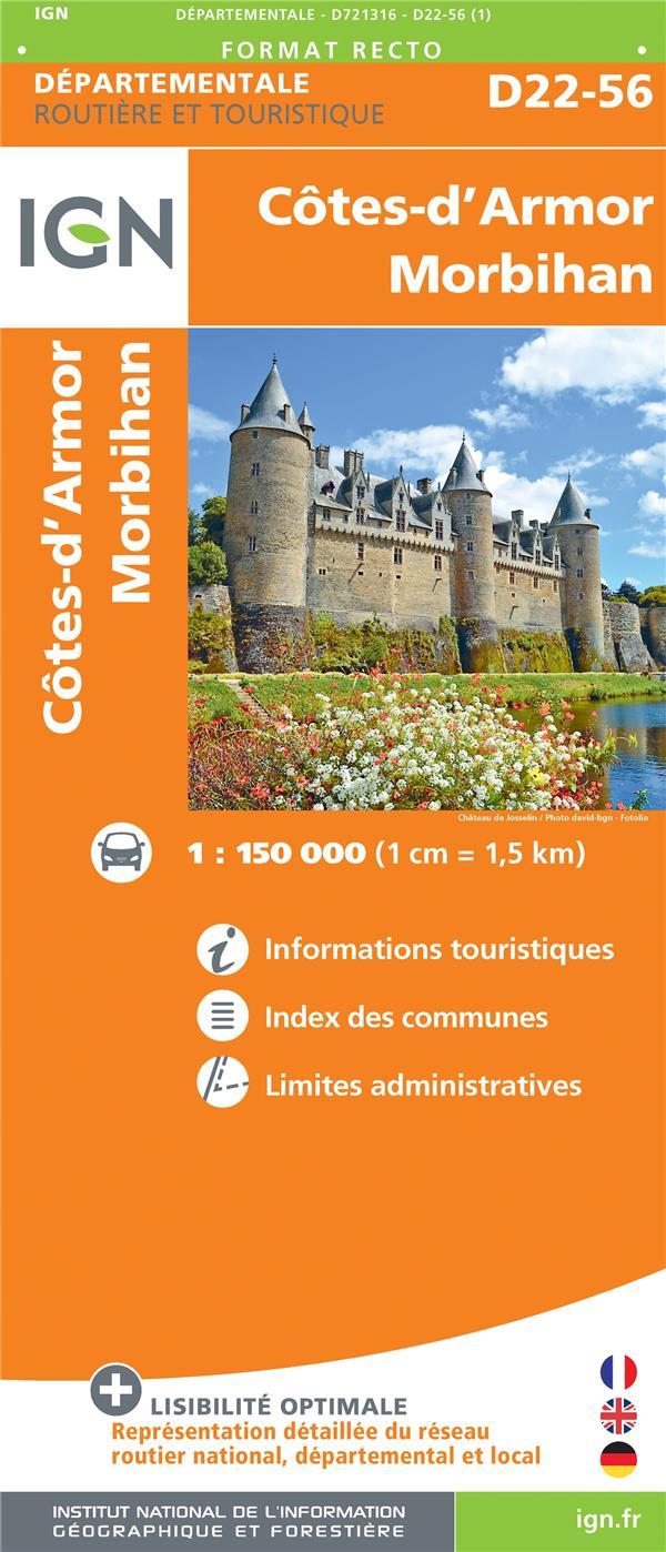 D721316 ; Côtes-d'Armor, Morbihan (édition 2018)