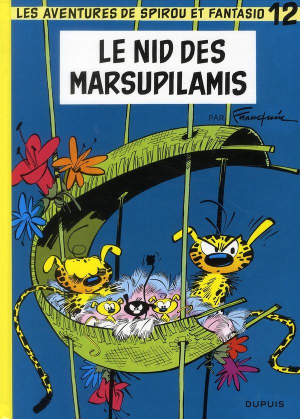 Les Aventures De Spirou Et Fantasio T.12 ; Le Nid Des Marsupilamis