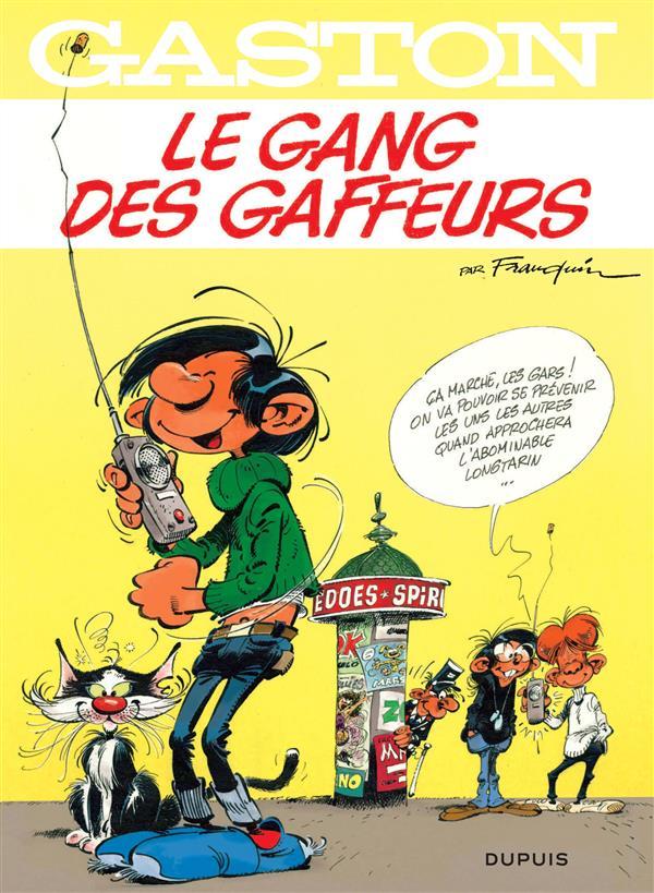 Gaston T.15 ; Le Gang Des Gaffeurs