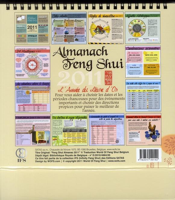 Almanach feng shui 2011