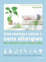 Vente Livre Numérique : Une maison saine et sans allergies  - Marcel Guedj