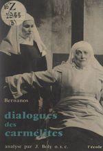Vente Livre Numérique : Dialogues des carmélites  - Georges Bernanos