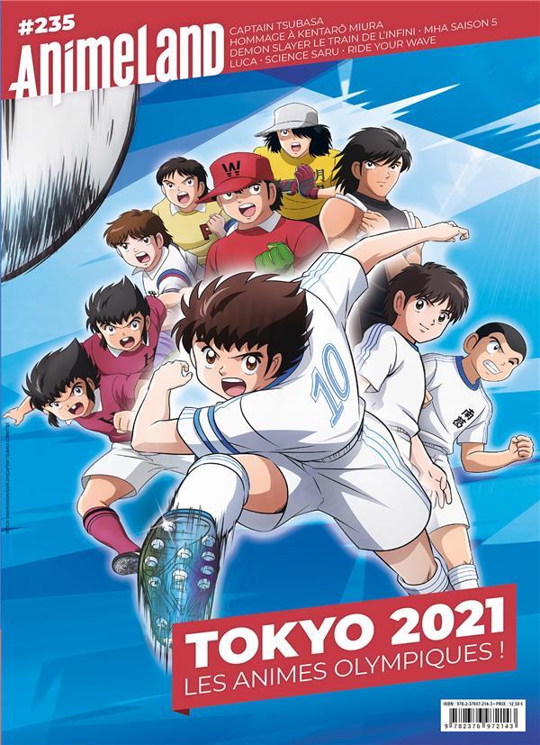 animeland n.235 ; Tokyo 2021 : les animés olympiques !