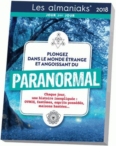 calendrier ; almaniak paranormal (édition 2018)