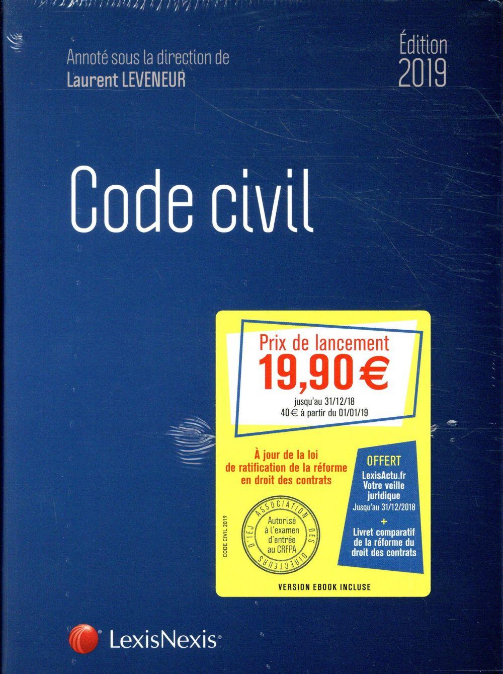 Code civil (édition 2019)