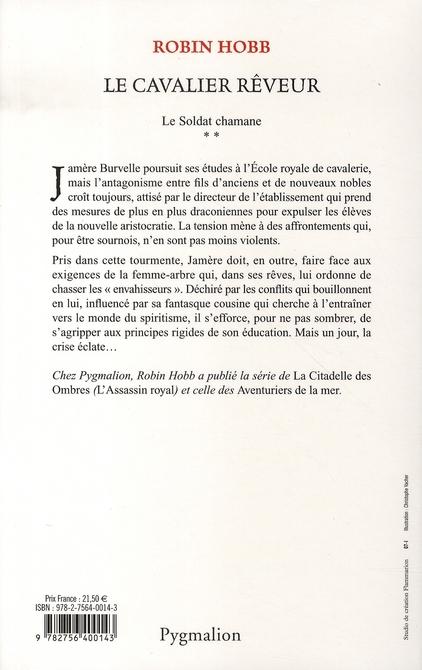 Le soldat Chamane t.2 ; le cavalier rêveur