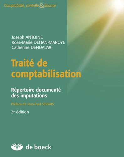 Traite De Comptabilisation ; Repertoire Documente Des Imputations (3e Edition)