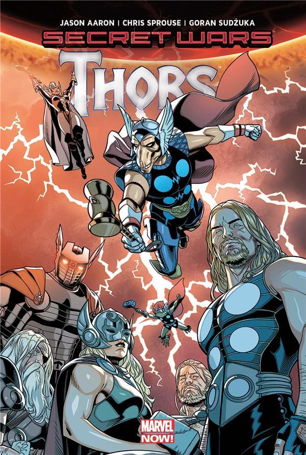 Secret wars ; Thors