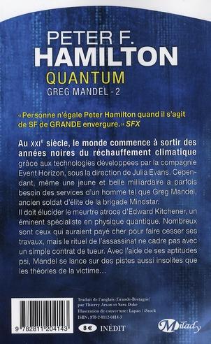 Greg Mandel T.2 ; quantum