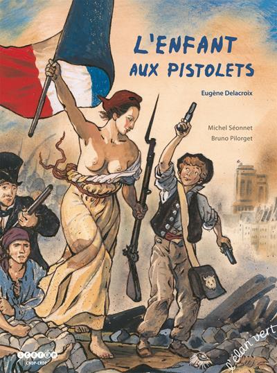 L'enfant aux pistolets ; Eugène Delacroix