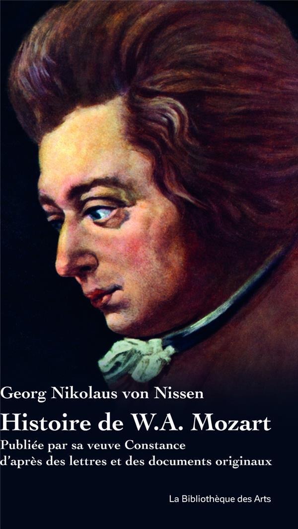 Histoire de W.A. Mozart