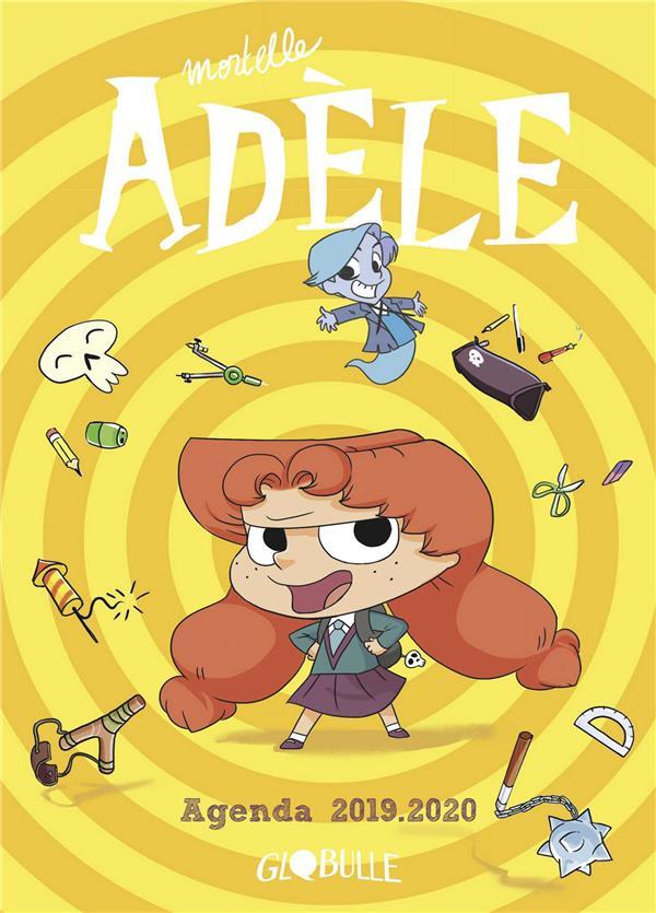 Mortelle Adèle ; agenda (édition 2019/2020)