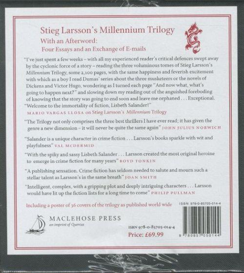 stieg larsson's millennium trilogy limited box set - girl with the dragon tattoo/girls who played with fire/girl kicked