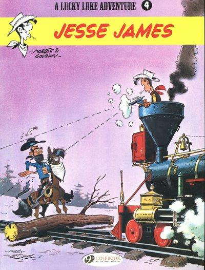 Lucky Luke T.4 ; Jesse James