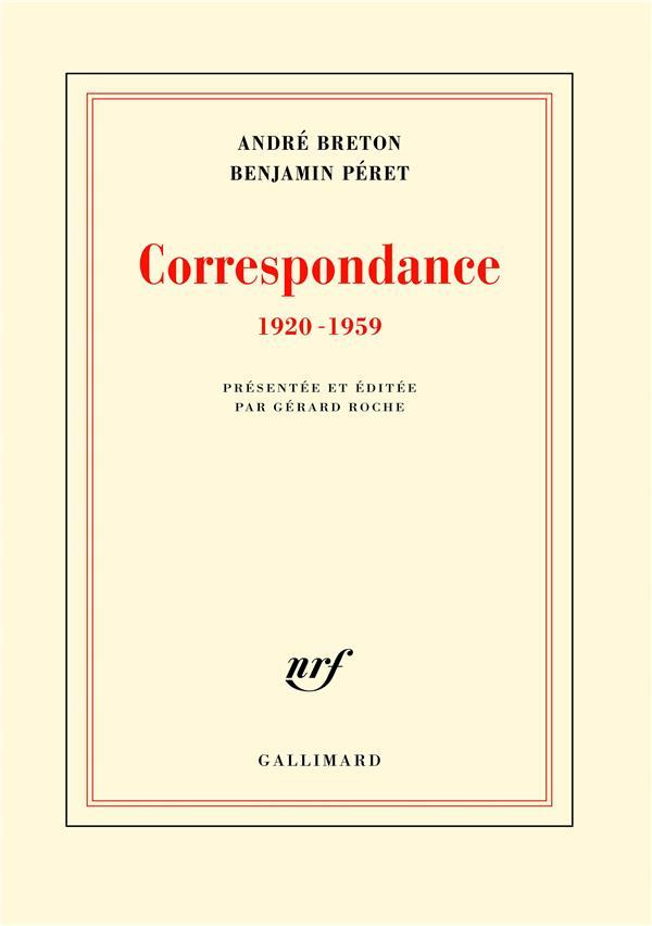 CORRESPONDANCE - (1920-1959)