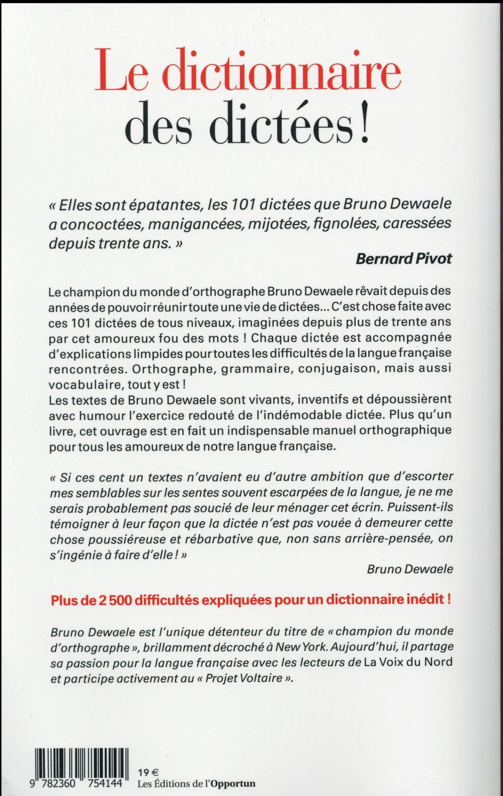 101 dictées ; 2500 difficultés expliquées