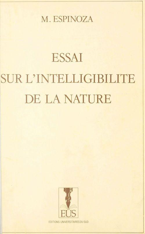 Essai sur l'intelligibilité de la nature