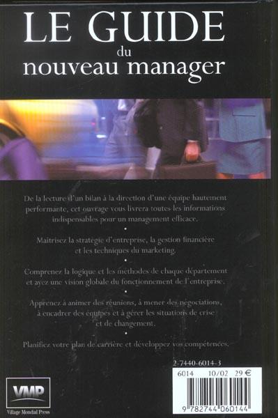 Le guide du nouveau manager