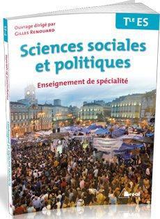 sciences sociales et politiques ; terminale ES ; enseignement de spécialité