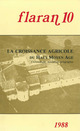 La croissance agricole du Haut Moyen Âge  - Jean-Baptiste Marquette