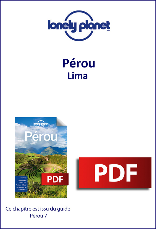 Pérou - Lima  - Lonely Planet Fr