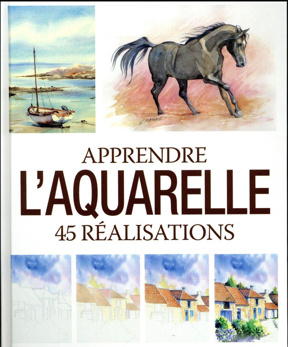 Apprendre l'aquarelle ; 45 réalisations