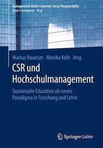 CSR und Hochschulmanagement  - Monika Kolb - Markus Raueiser