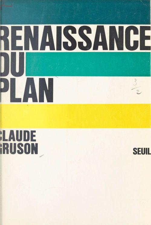 Renaissance du Plan