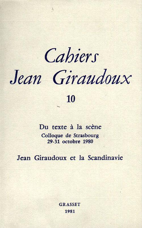 Cahiers numéro 10