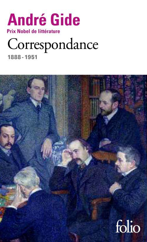 Anthologie de lettres ; 1888-1951