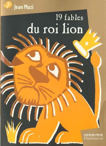 19 fables du roi lion (anc ed)