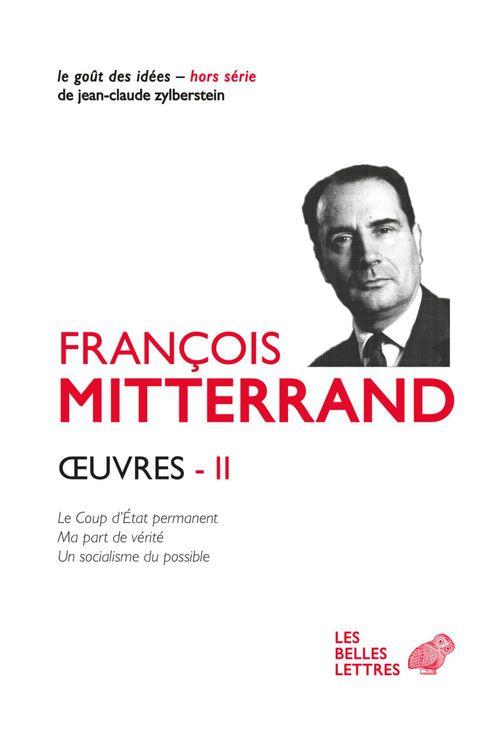 Vente EBooks : OEuvres II  - François MITTERRAND