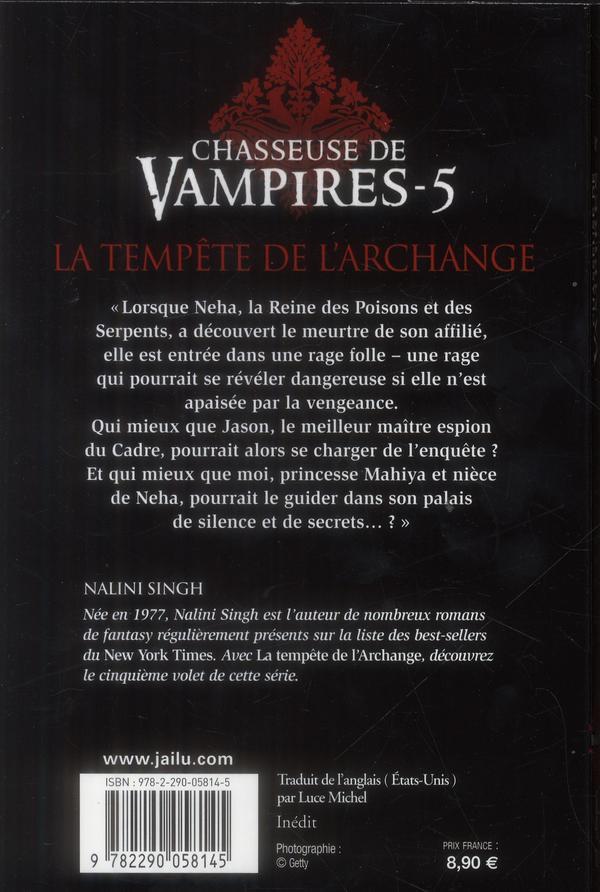 Chasseuse de vampires T.5 ; la tempête de l'archange