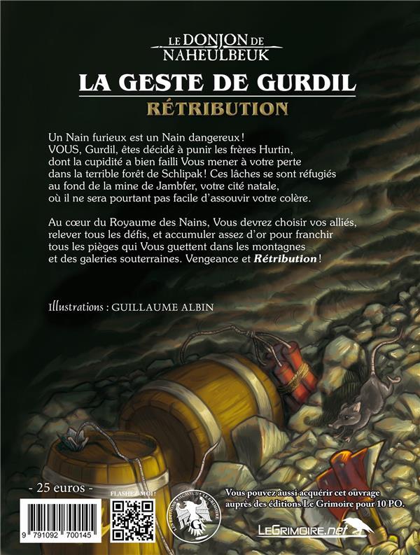 le donjon de Naheulbeuk ; la geste de Gurdil ; rétribution