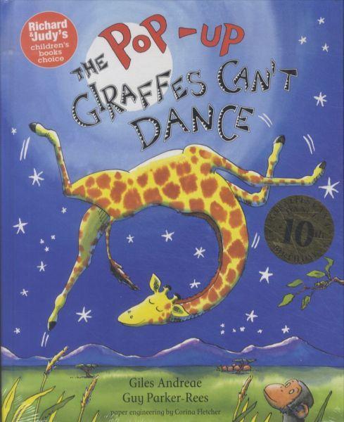 The giraffes can't dance - pop-up