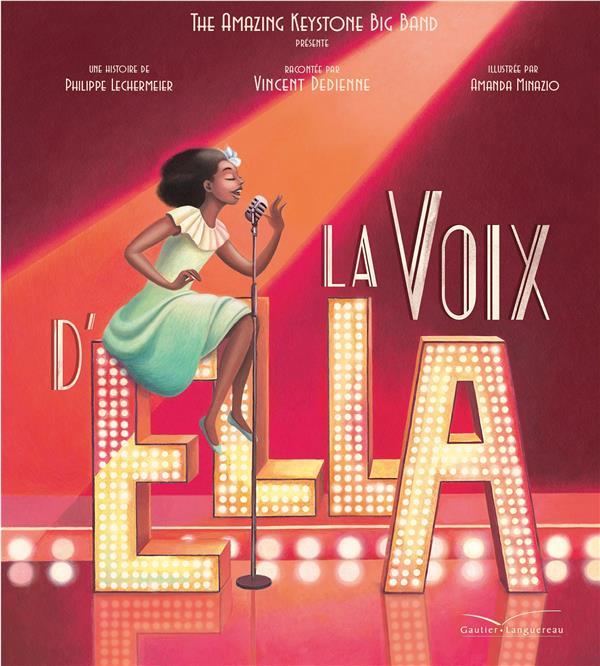 LA VOIX D'ELLA - LIVRE CD LECHERMEIER PHILIPPE