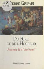 Vente EBooks : Du rire et de l'horreur  - Pierre Gripari