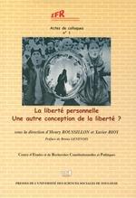 Vente EBooks : La liberté personnelle  - Xavier Bioy - Henry Roussillon