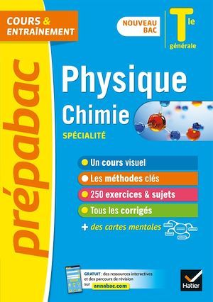 Physique-Chimie Tle générale (spécialité) - Prépabac Cours & entraînement