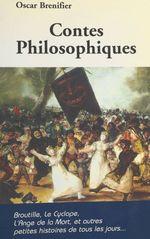 Vente Livre Numérique : Contes philosophiques  - Oscar Brenifier