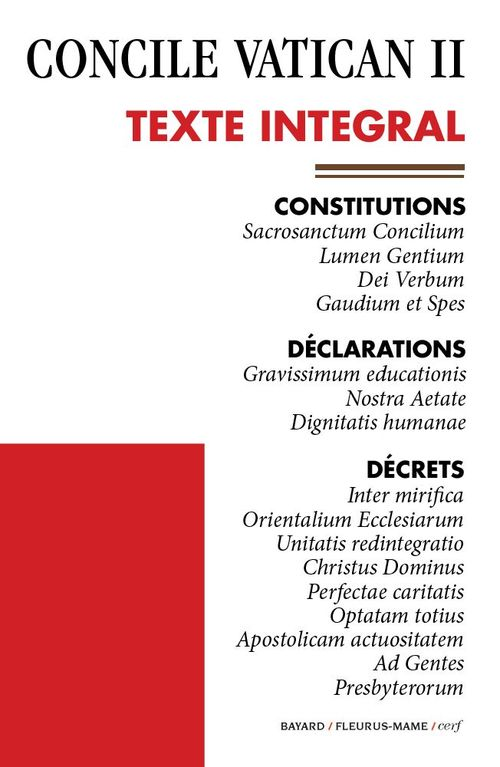 Concile Vatican II ; texte intégral