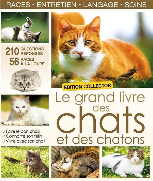 Le Grand Livre Des Chats Et Des Chatons