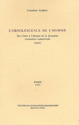 L'obsolescence de l'homme