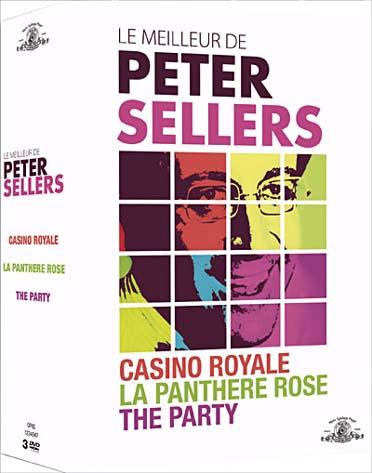 Le Meilleur de Peter Sellers : Casino Royale + La Panthère Rose + The Party