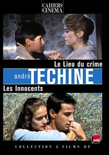 coffret André Téchiné 2 films : le lieu du crime ; les innocents