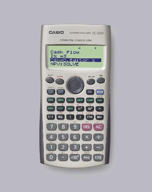 CALCULATRICE FINANCIÈRE FC100V