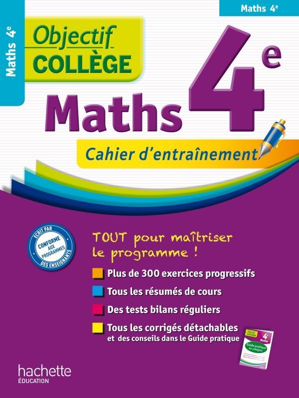 OBJECTIF COLLEGE ; mathématiques ; 4ème
