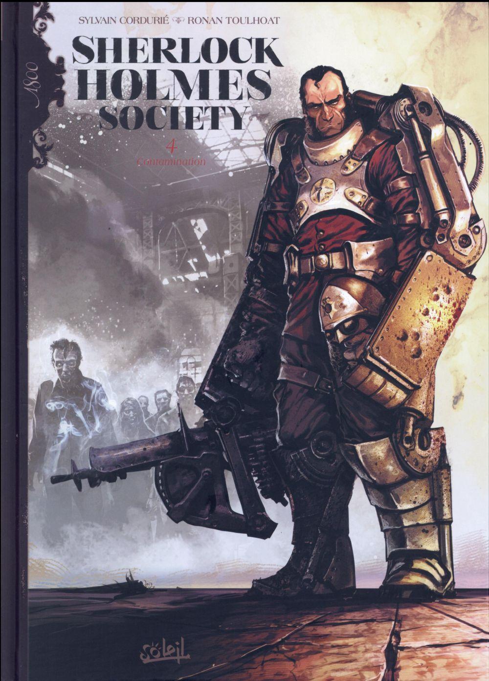 Sherlock Holmes Society T.4 ; contamination