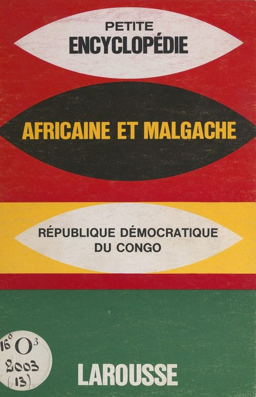Petite encyclopédie africaine et malgache
